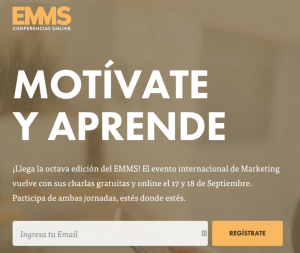 Evento internacional de Marketing online EMMS